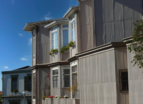 Häuserfassaden in Valparaiso Chile