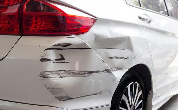 hit and run crashed Car auto insuerance