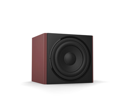 Square sub woofer bass music speakers
