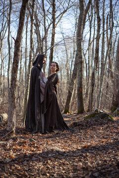 Merlin and Nimue in Love