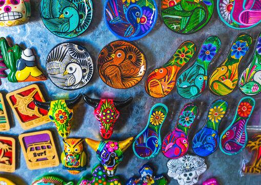 Colorful Mexican Magnets Los Cabos Mexico