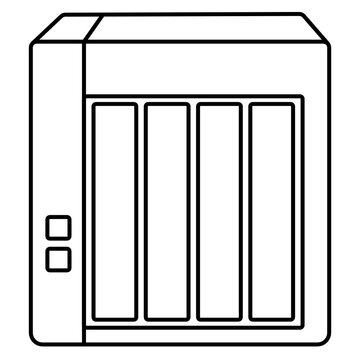 Network Attached Storage (NAS) device icon