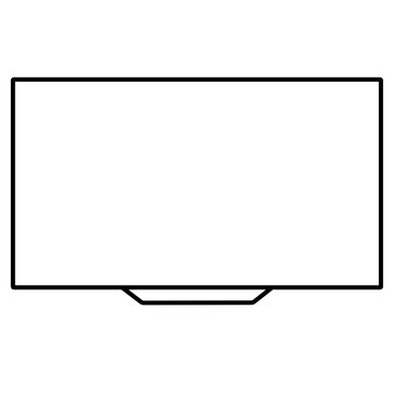 Tv display icon