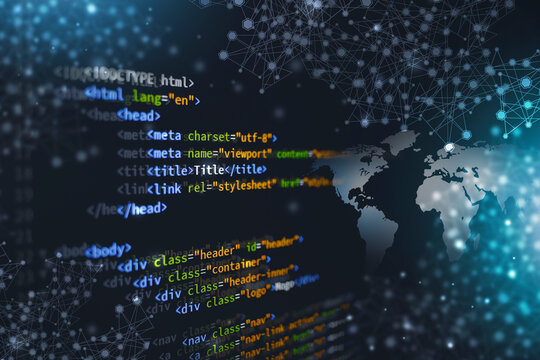 html web coding computer language