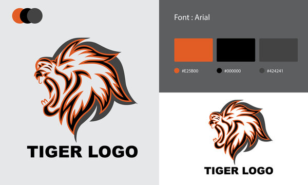 Tiger Business Logo Template Design