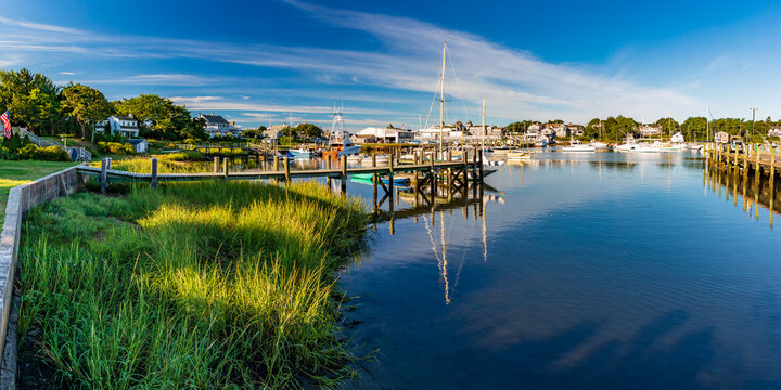 Massachusetts-Cape Cod-Harwich-Wychmere Harbor