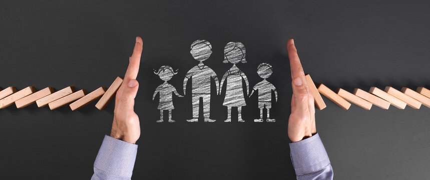 the concept of protecting the family from external dangers and sheltering