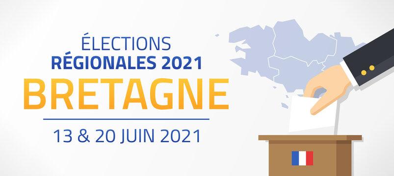 Élections Régionales 2021 en France, Bretagne, 13 et 20 Juin 2021
