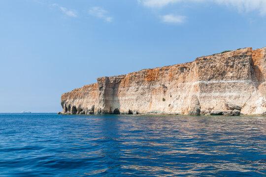 Comino island at sunny day, Malta
