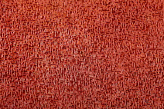 Brown fine grain leather texture background