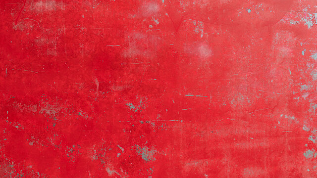 background texture with Red painted steel surface.