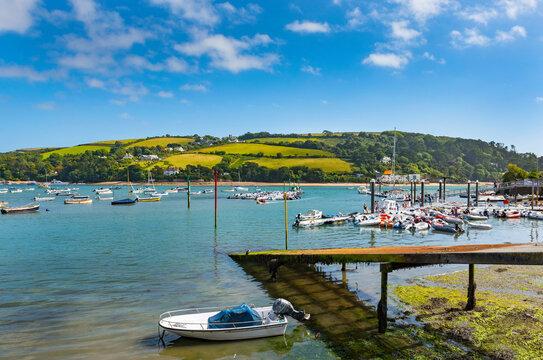 Salcombe Harbour and Estuary, Soth Devon, England