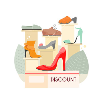 Discount Female Choes Composition