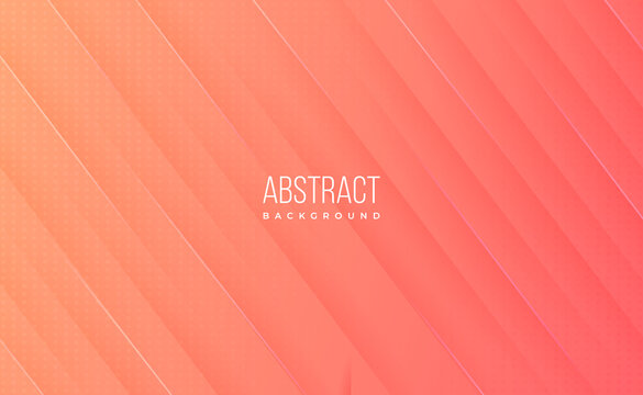 Modern professional orange gradient abstract technology background for business and science wallpaper