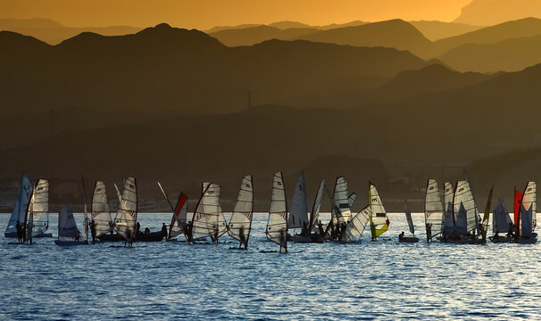Water sport activities at the Red Sea, Middle East