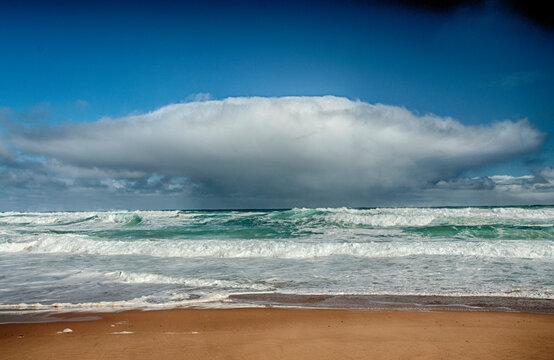 The south coast of Australia along Great Ocean road