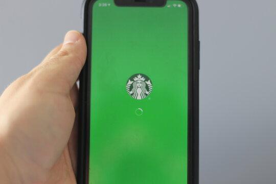 Starbucks mobile app, editorial