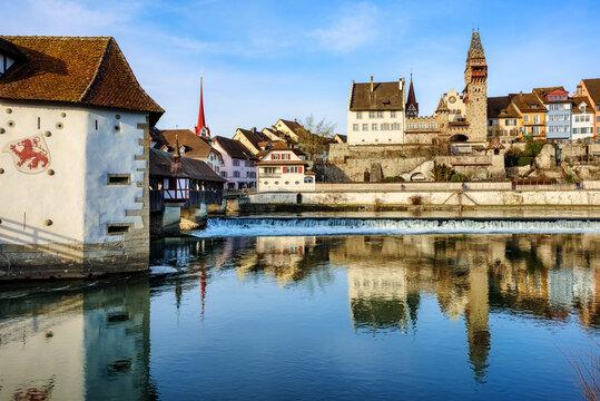 Bremgarten historical Old town, Switzerland