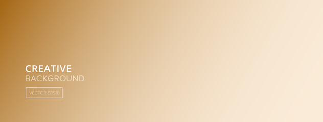 Obraz Abstract light brown gradient color banner background - fototapety do salonu