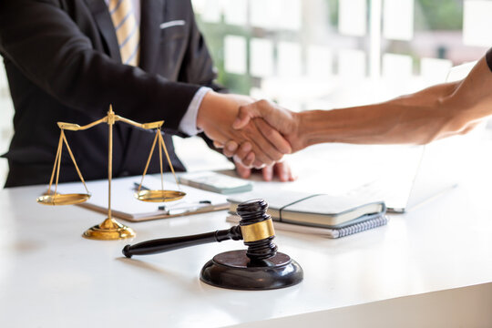justice and law concept. male lawyer working in office. Legal law, advice and justice concept.