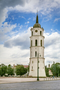 Bell Tower of Vilnius Cathedral, Lithuania