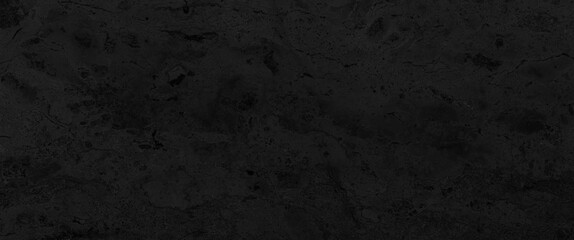 Panorama of Black marble tile floor texture and bckground seamless