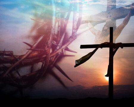 Background photo manipulation for lent season