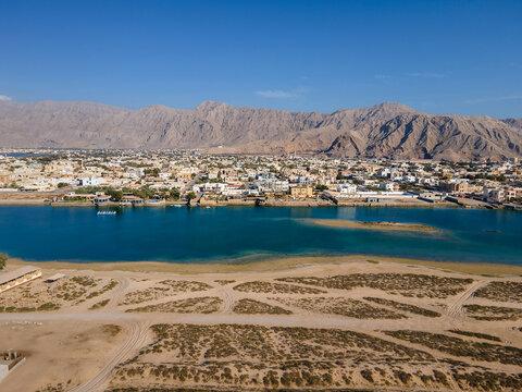 Al Rams county, the suburb of Ras Al Khaimah emirate in the United Arab Emirates