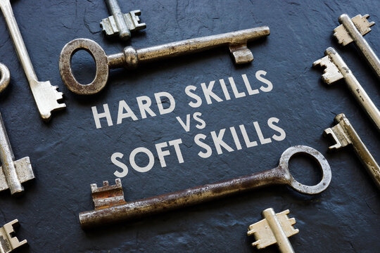 Hard skills vs soft skills and old metal keys.