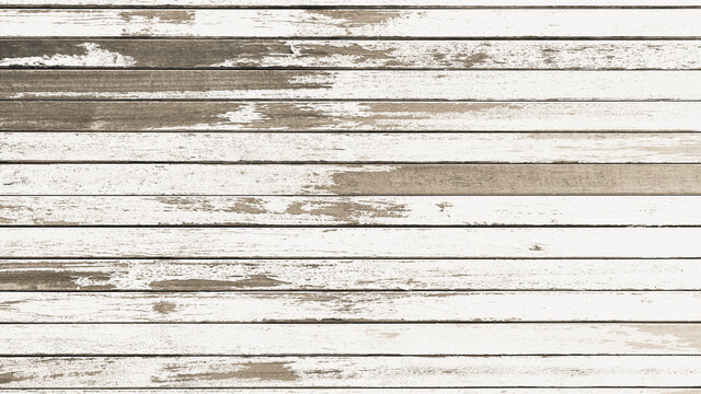 Abstract style old wood panel backdrop or background Horizontal