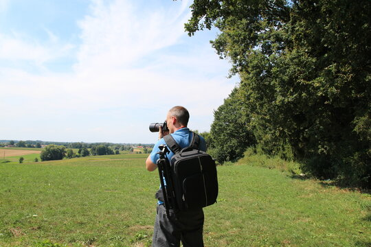 Naturfotograf - Fotograf in der Natur