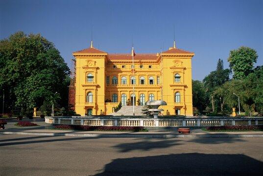 Presdential palace, Ho Chi Minh mausoleum complex, Hanoi, Vietnam