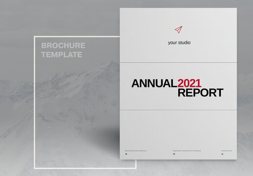 Annual Report Layout
