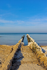 Kołobrzeg, wybrzeże Bałtyku