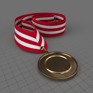 Sports medal mockup 6