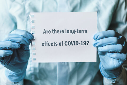 The question about coronavirus - Are there long-term effects of COVID-19