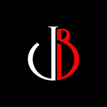 jb logo design vector icon luxury