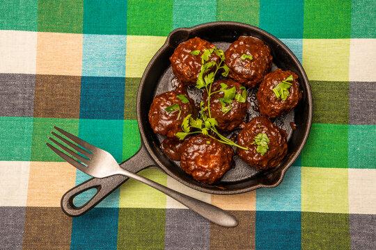 ミートボール tomato sauce meatballs