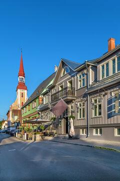 Street in Parnu, Estonia