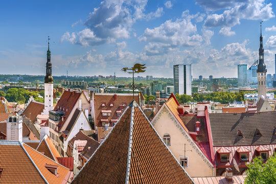 View of Tallinn, Estonia