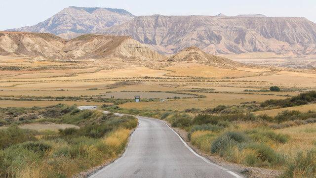 Le désert de Bardenas Reales