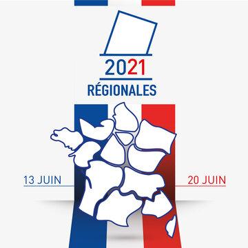 élections régionales en France les 13  et 20 juin 2021