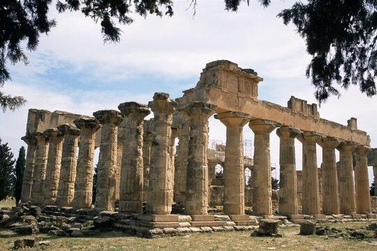 Zeus temple, Cyrene, UNESCO World Heritage Site, Cyrenaica, Libya