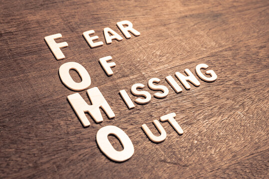 FOMO marketing (Fear of Missing Out)