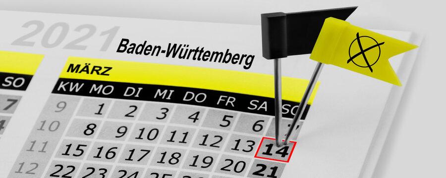 Landtagswahlen Baden-Württemberg  März 2021