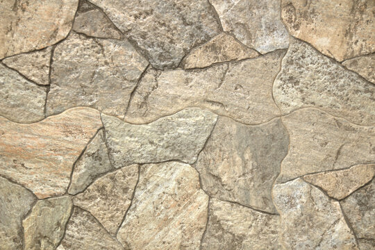 Printed concrete walkway texture background.