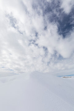 Dunes in the Snow