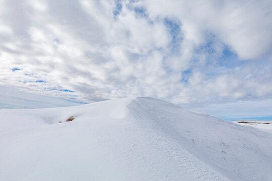 Dunes in Snow
