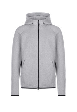 Grey hoodie with zipper