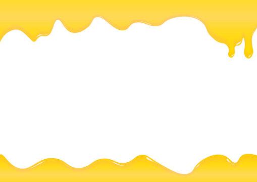 蜂蜜 チーズ とける たれる フレーム 枠